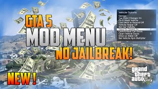 GTA 5 ONLINE - MOD MENU | NO JAILBREAK! | TUTORIAL & DOWNLOAD (1.26 / 1.27) [GER / ENG]
