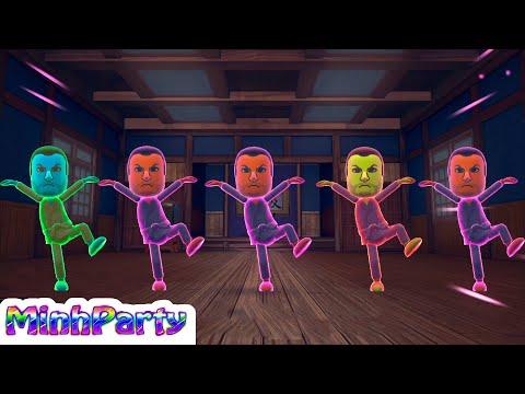 Wii Party U Dojo Domination Mario Gameplay #6