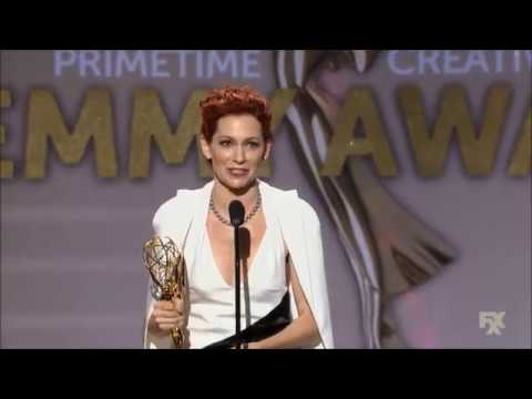 Carrie Preston wins Emmy Award for The Good Wife 2013