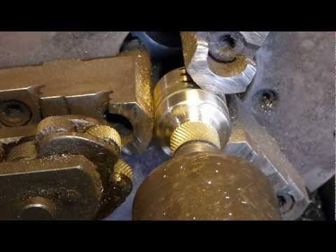 Homemade Brass Steam Whistle - YouTube