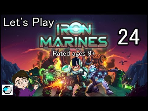 Let's Play Iron Marines #24 Robo070's Memory Lane
