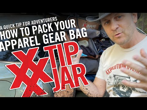 How To Pack An Apparel Gear Bag For Adventure IKamper Shoe Rack