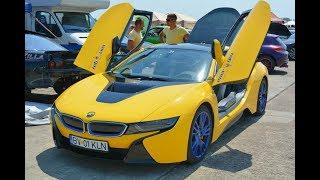 BMW I8 vs Bmw E36 - Drag Race Ianca 06.08.2017