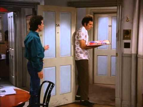 Seinfeld Kramer Clears The Table Youtube