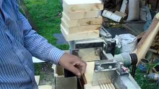 Супер-мастерская пчеловода. Испытание многопила на магазинных боковушках