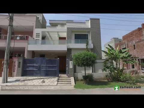MODERN DESIGNER NEWLY BUILT HOUSE FOR SALE IN EXPO AVENUE SOCIETY JOHAR TOWN LAHORE