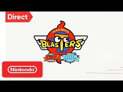 YO-KAI WATCH BLASTERS - Nintendo 3DS   Nintendo Direct 9.13.2018