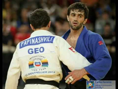 Beslan Mudranov judo Compilation European Championships 2014 april