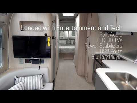 See inside the 2018 Airstream Globetrotter 27FBQ - London Grey