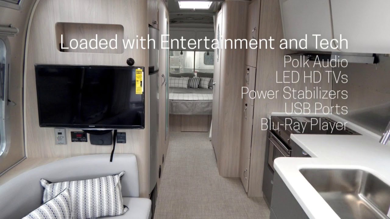 See Inside The 2018 Airstream Globetrotter 27fbq London