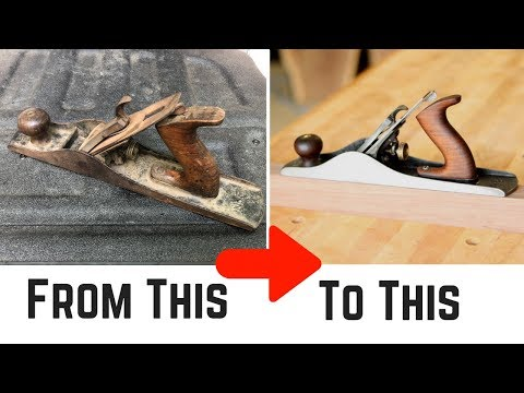 Hand Plane Restoration // How To