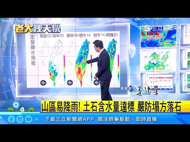 熱帶擾動生成!明全台防「劇烈天氣」|三立準氣象|20190819|三立新聞台