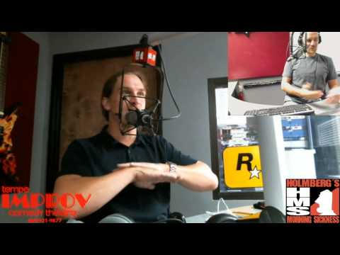 Jason Mewes Live In Studio with Holmberg's Morning Sickness On 98KUPD