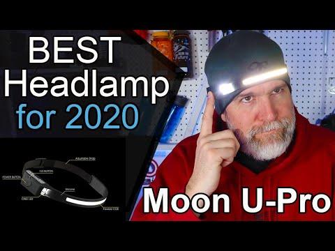 NEW for 2020 Headlamp / LED Moon U Backpacking Headlamp