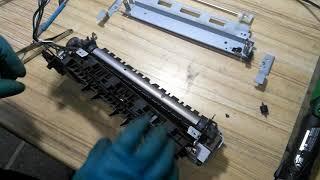 Інструкція заміна термоплівки на HP LaserJet Pro M521dn