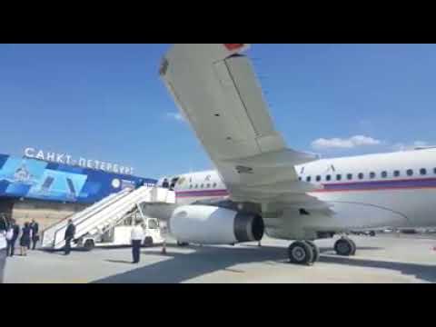 Самолет премьера Армении совершил посадку в «Пулково 2»
