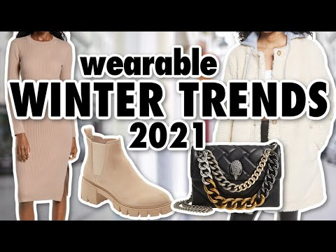 10 Winter FASHION TRENDS Worth Trying in 2021!