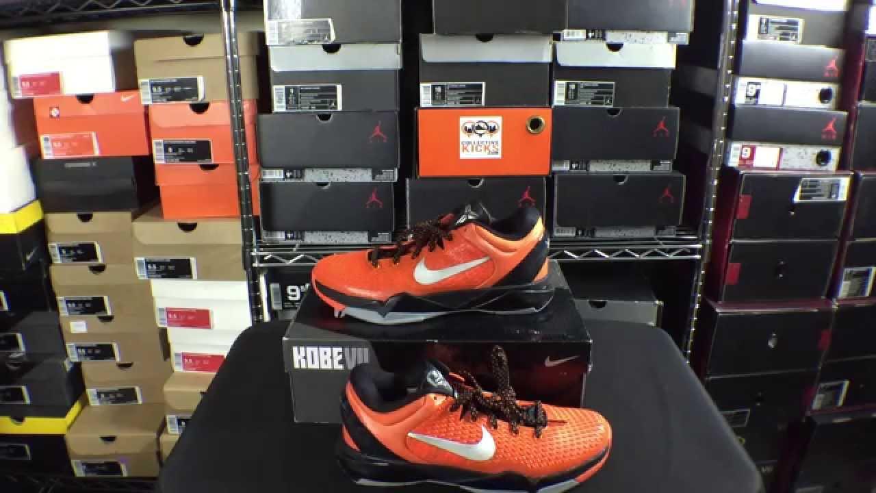 info for 33ece 6e4b7 Nike Kobe 7 Black Orange