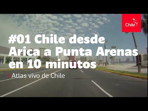 #01 Chile desde Arica a Punta Arenas en 10 minutos - Atlas vivo de Chile