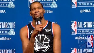 Kevin Durant press conference after All-Star Game | Team LeBron vs Team Giannis