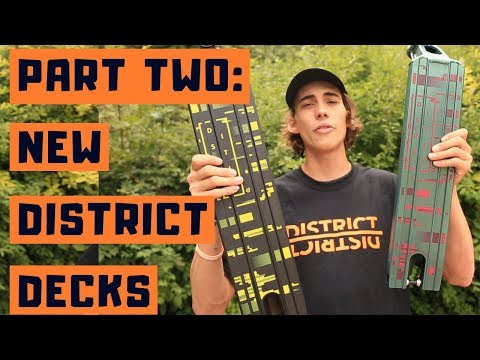 District 2018/2019 Collection Part 2: Decks