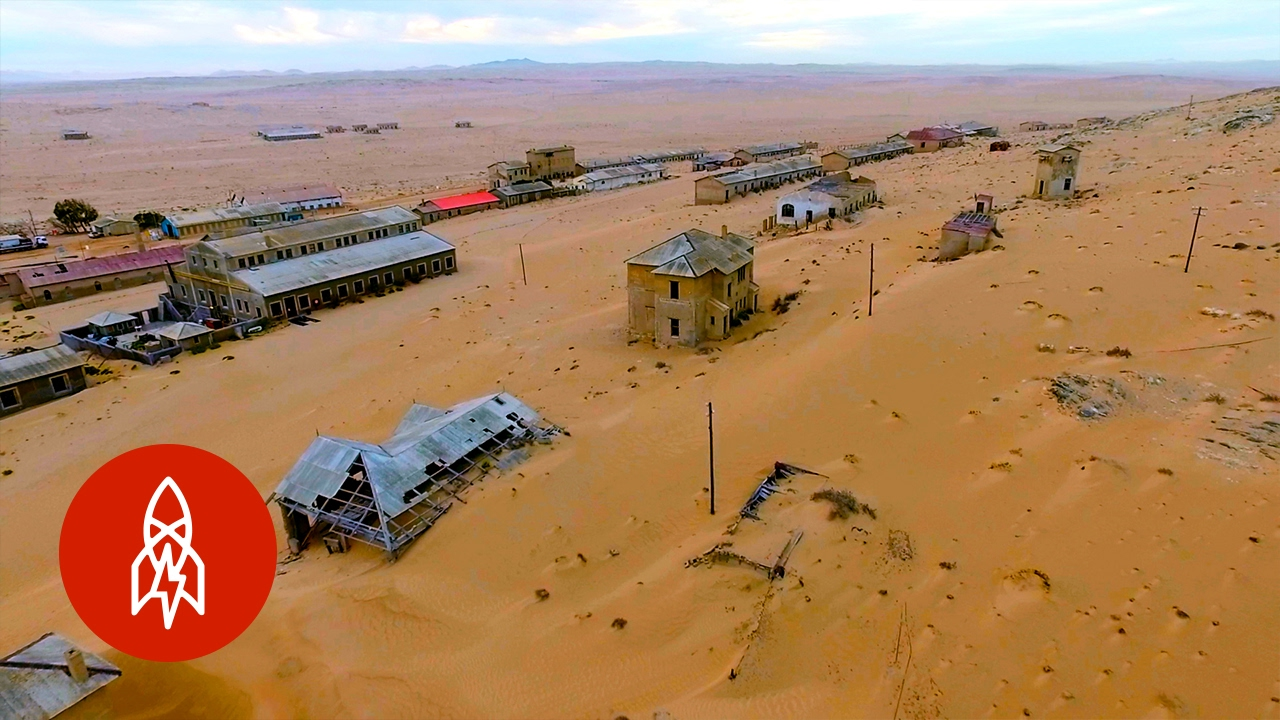 lost to the sands of time the ghost town of namibia youtube