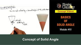 1. Physics | Solid Angle | Concept of Solid Angle | by Ashish Arora