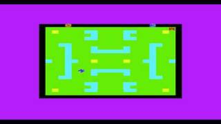 Tank War (Atari 2600 Combat rip) - Rabbit Software - Commodore Vic20 Vic-20 gameplay
