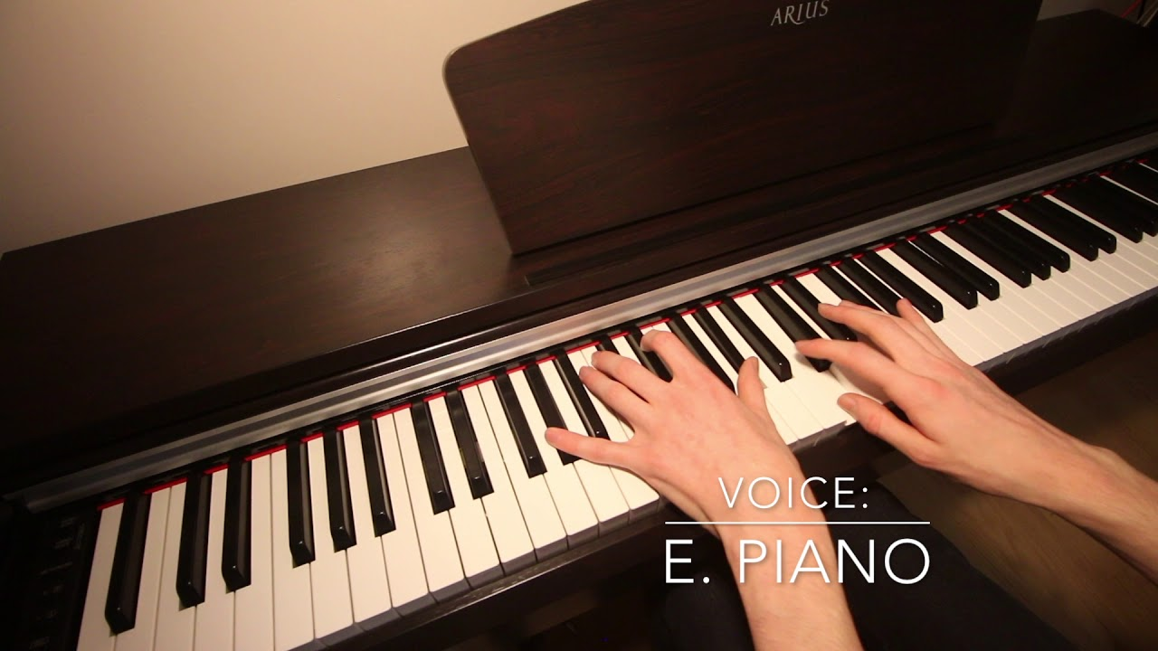 yamaha arius ydp 141 electric piano review demo youtube. Black Bedroom Furniture Sets. Home Design Ideas