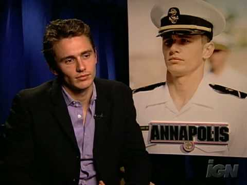 "James Franco - Interview ""Annapolis""/ 2006"