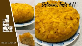 How To Make Delicious Juicy Pineapple Upside Down Cake |Simple Easy Recipe | Sweet Bite & Craft.