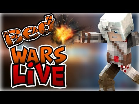 🔴 Minecraft Hypixel BEDWARS LIVE on YouTube AND Twitch 🍪 /P Join AyeselTPW
