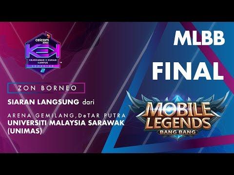 MLBB CELCOM #XPAXKEK SEM 2 Grand Final Zon Borneo - Maximus Rex [UNIMAS] vs Godz Genesys [UMSKAL]