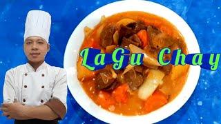 Hướng Dẫn Làm Món Bò Nấu  LaGu Chay Tại Nhà /  Món Ăn Chay