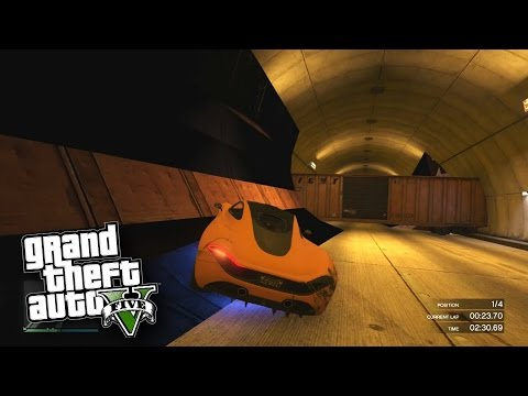 TUNNEL SPIRALS!' - GTA 5 Funny Moments #596 with Vikkstar