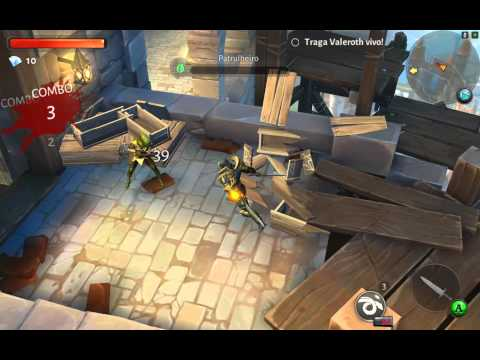 Dungeon Hunter 5 Nvidia Shield Tablet