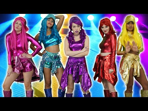 THE SUPER POPS RAPSTERS (MUSIC VIDEO). Rap Battle Royale Video Game. Totally TV Videos for Teens