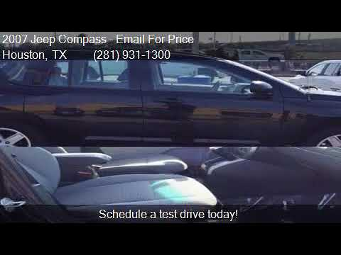 2007 Jeep Compass Sport 4dr SUV for sale in Houston, TX 7703
