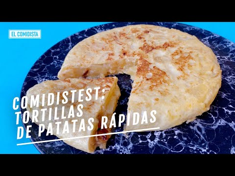 Tortillas rápidas de patata: una catástrofe, dos 'meh' y un descubrimiento   EL COMIDISTA