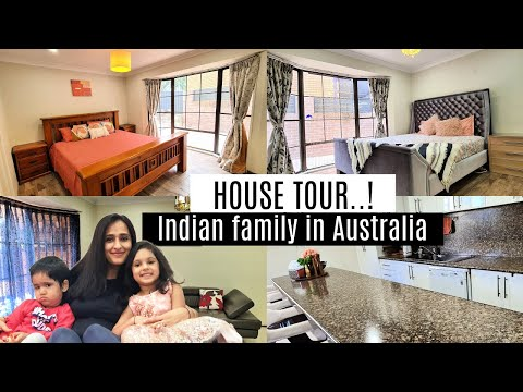 House Tour 2020.......! | Indian family in Australia | Mom N Me