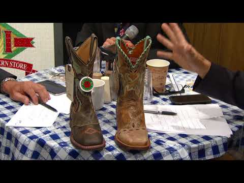 Larry's Country Diner, September 21, 2017 - Dan Post and Laredo Cowgirl Boots