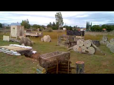 Gotcha >> Campo de Gotcha Zona Sur Paintball - Chihuahua - YouTube