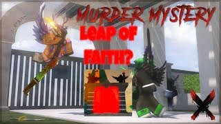 What Happens When you do the leap of faith? {ROBLOX MMX}