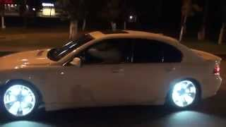 Bmw With Lighted Wheels