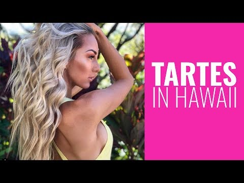 TARTES IN HAWAII - A trip with my Mum in MAUI - get to know me as a little girl!