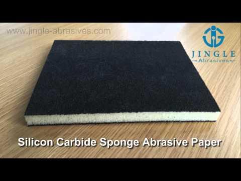 Silicon Carbide Sponge Abrasive Paper