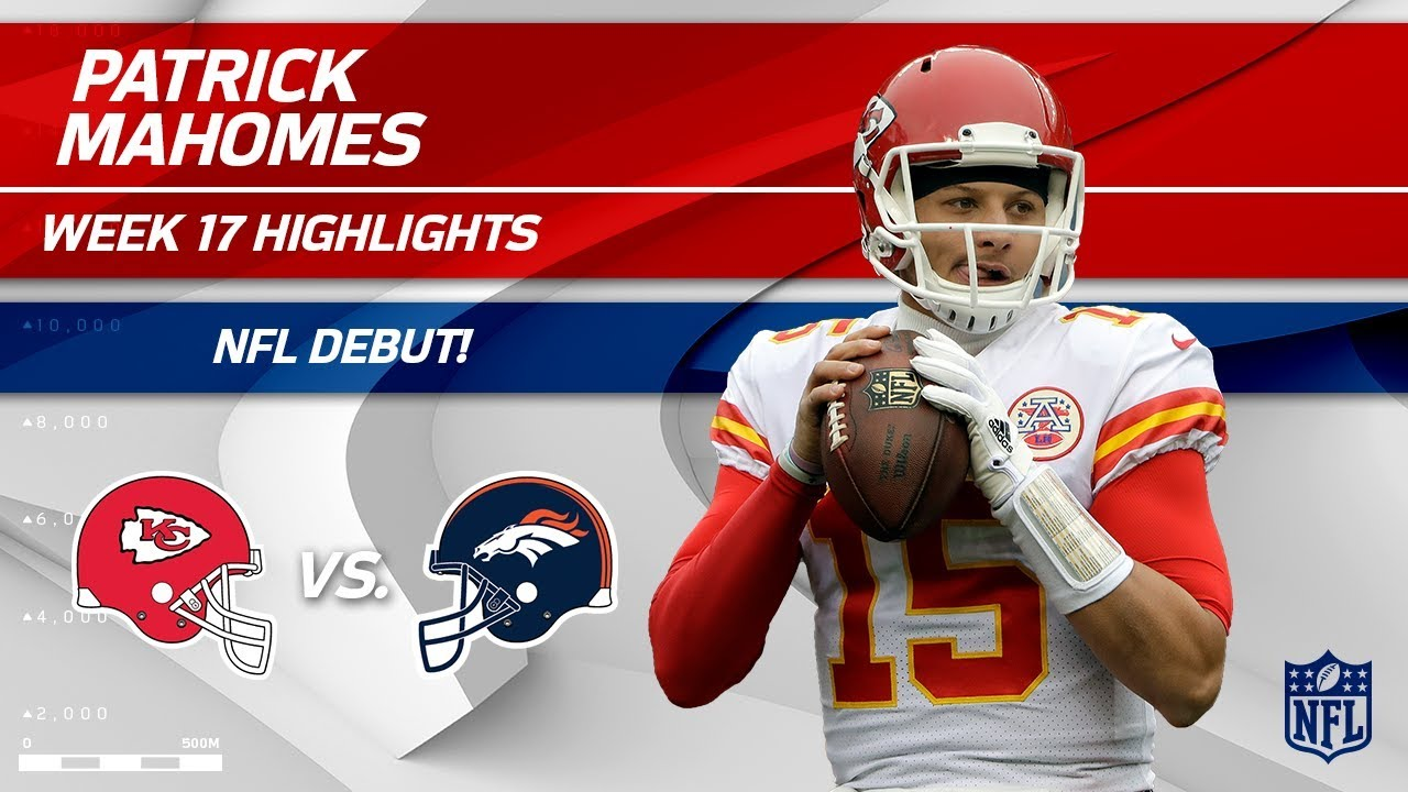 ec46f596e Every Play from Patrick Mahomes on His NFL Debut!