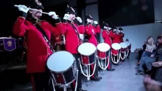 BIYB Christmas Concert 2016  Drummers