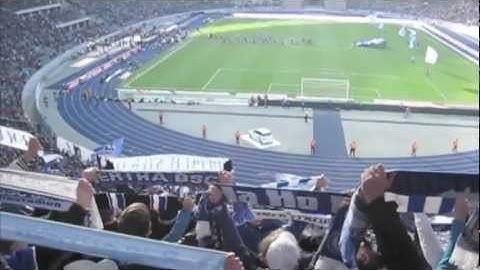 Ostkurve - Hertha Berlin - Werder Bremen: 03.03.2012 - Olympiastadion Berlin