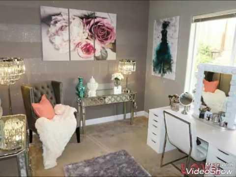 Ideas para tu cuarto de maquillaje - YouTube